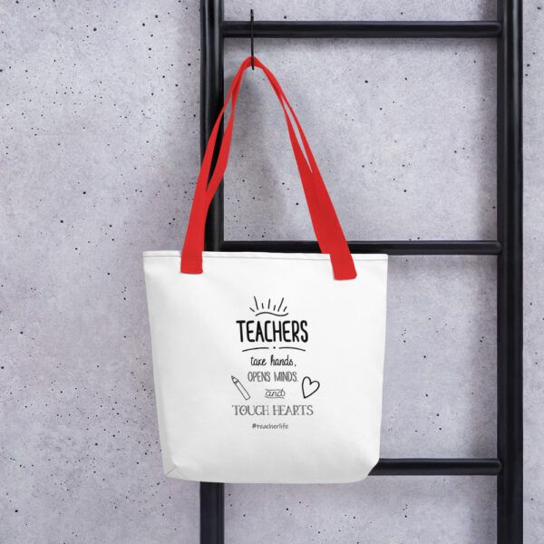 all over print tote red 15x15 mockup 601ecad3e5f47