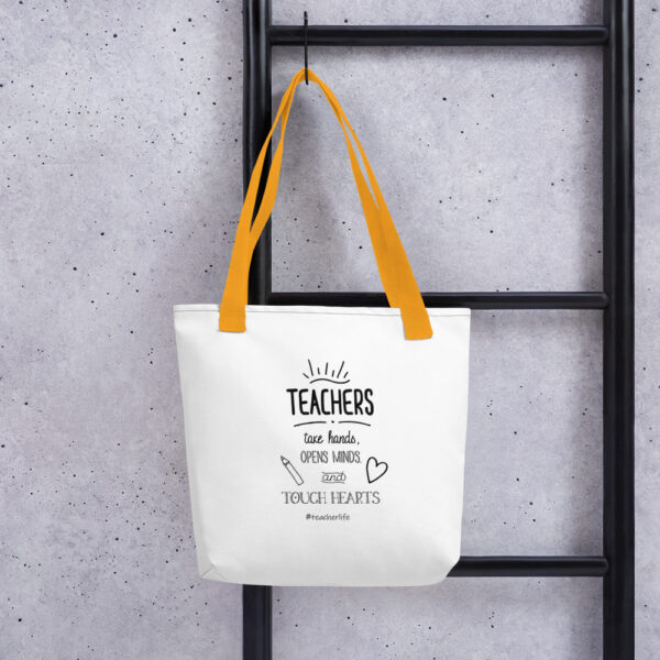 all over print tote yellow 15x15 mockup 601ecad3e5fa4