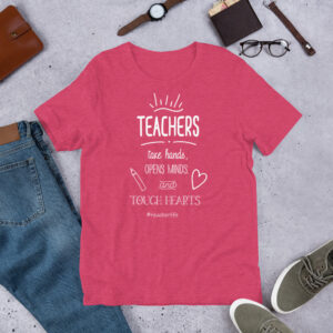 Teachers touch hearts